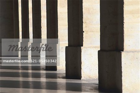 Row of columns Stock Photo - Premium Royalty-Free, Image code: 621-05450342