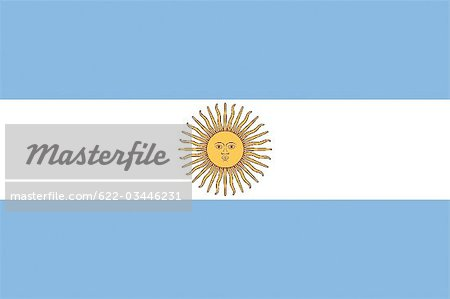 Argentina National Flag Stock Photo - Premium Royalty-Free, Image code: 622-03446231