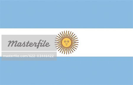 Argentina National Flag Stock Photo - Premium Royalty-Free, Image code: 622-03446422