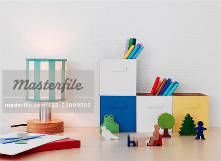 Children's Room Stock Photo - Premium Royalty-Free, Image code: 622-06009500