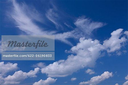 Clouds And Sky Stock Photo - Premium Royalty-Free, Image code: 622-06190833