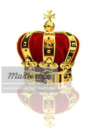 Close Up Of Crown Stock Photo - Premium Royalty-Free, Image code: 622-06190980