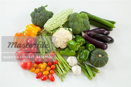 Group of vegetables Stock Photo - Premium Royalty-Free, Image code: 622-06369931