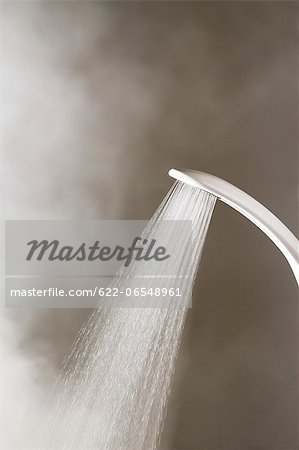 Hot shower Stock Photo - Premium Royalty-Free, Image code: 622-06548961