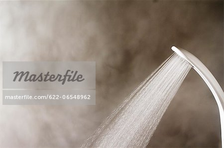 Hot shower Stock Photo - Premium Royalty-Free, Image code: 622-06548962