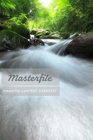 Water stream Stock Photo - Premium Royalty-Free, Image code: 622-06549347
