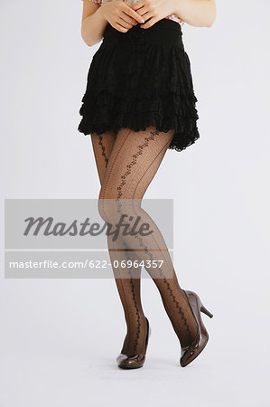 Woman's legs Stock Photo - Premium Royalty-Free, Image code: 622-06964357