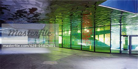 Artful underpass Stock Photo - Premium Royalty-Free, Image code: 628-05817401