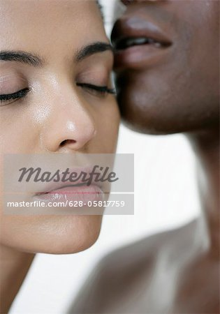 Intimate couple Stock Photo - Premium Royalty-Free, Image code: 628-05817759