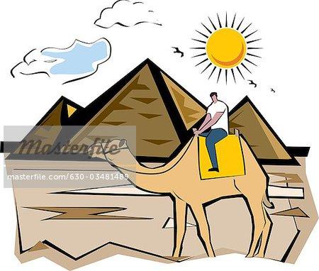Egyptian Pyramid Clipart