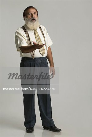 Man gesturing Stock Photo - Premium Royalty-Free, Image code: 630-06723276