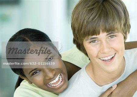 Preteen friends, portrait Stock Photo - Premium Royalty-Free, Code ...