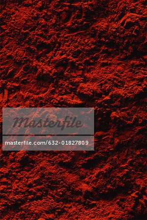 Red powder, extreme close-up, full frame Stock Photo - Premium Royalty-Free, Image code: 632-01827809