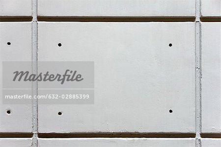 Detail of grooved concrete wall Stock Photo - Premium Royalty-Free, Image code: 632-02885399