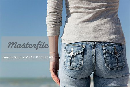 Woman's back side, close-up Stock Photo - Premium Royalty-Free, Image code: 632-03652049