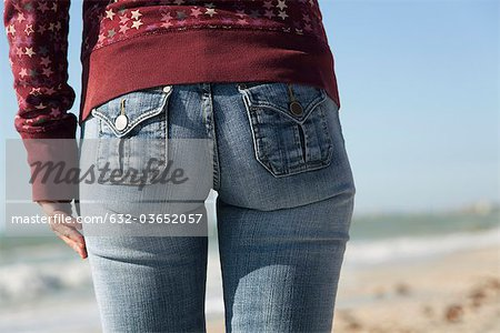 Woman's back side, close-up Stock Photo - Premium Royalty-Free, Image code: 632-03652057