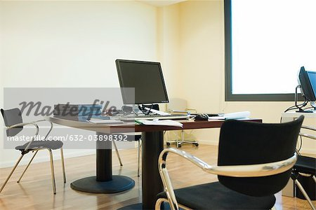 Empty office Stock Photo - Premium Royalty-Free, Image code: 632-03898392