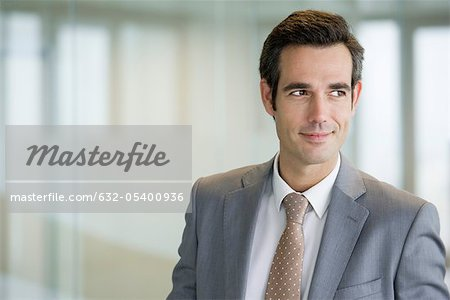 Male executive, portrait Stock Photo - Premium Royalty-Free, Image code: 632-05400936