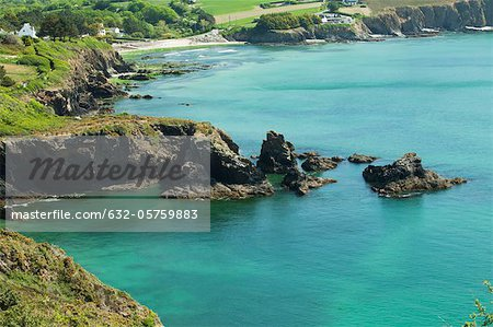 Crozon Peninsula, Finistère, Brittany, France Stock Photo - Premium Royalty-Free, Image code: 632-05759883