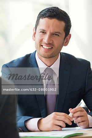 Businessman meeting with client Stock Photo - Premium Royalty-Free, Image code: 632-08001902