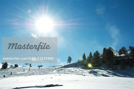 Switzerland, ski slope Stock Photo - Premium Royalty-Free, Image code: 633-01572989