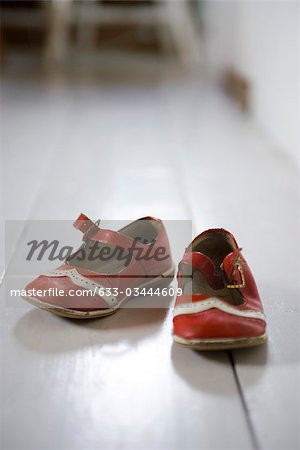 Child's shoes Stock Photo - Premium Royalty-Free, Image code: 633-03444609