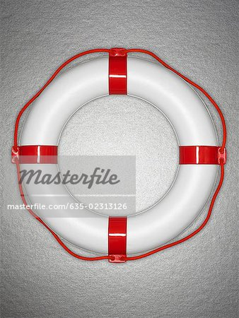 Plastic life preserver Stock Photo - Premium Royalty-Free, Image code: 635-02313126