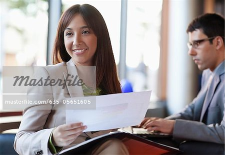 Business people working together Stock Photo - Premium Royalty-Free, Image code: 635-05651605