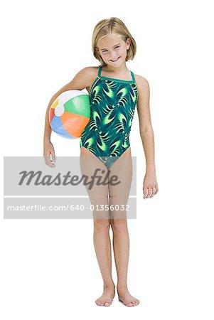 Girl in bathing suit Stock Photo - Premium Royalty-Free, Code: 640 ...