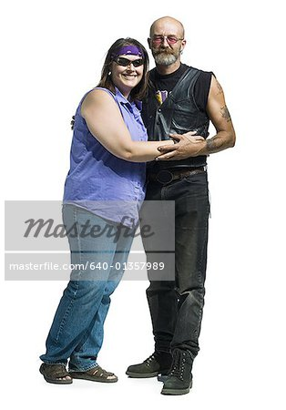 Portrait of a mature couple standing Stock Photo - Premium Royalty-Free, Image code: 640-01357989