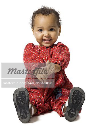 Very young girl Stock Photo - Premium Royalty-Free, Image code: 640-01360058
