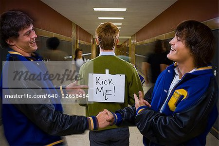 High School Jocks and Nerd.