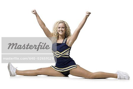 cheerleader Stock Photo - Premium Royalty-Free, Image code: 640-02659129