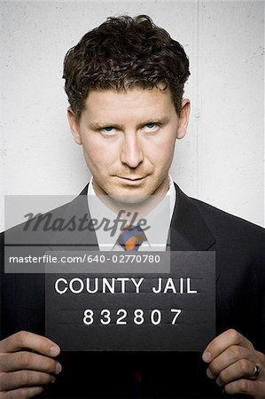 Mug shot of businessman Stock Photo - Premium Royalty-Free, Image code: 640-02770780
