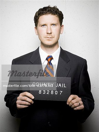 Mug shot of businessman Stock Photo - Premium Royalty-Free, Image code: 640-02770783