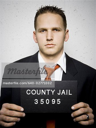 Mug shot of businessman Stock Photo - Premium Royalty-Free, Image code: 640-02771002