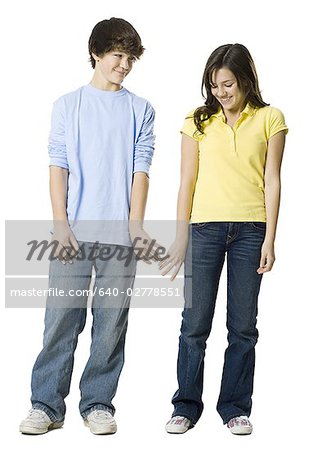 young couple holding hands Stock Photo - Premium Royalty-Free, Image code: 640-02778551