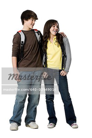 teenage couple Stock Photo - Premium Royalty-Free, Image code: 640-02949014