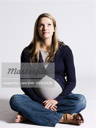 pregnant woman Stock Photo - Premium Royalty-Free, Image code: 640-02953338