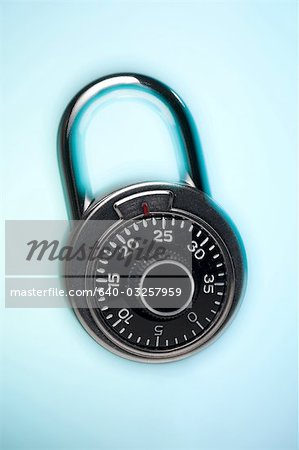 Combination lock Stock Photo - Premium Royalty-Free, Image code: 640-03257959
