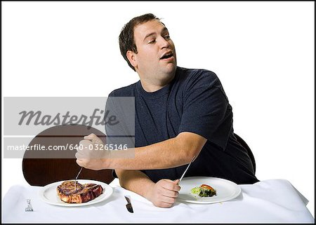 Couple eating lunch Stock Photo - Premium Royalty-Free, Image code: 640-03265146
