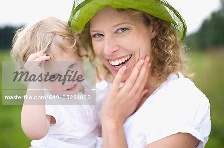 mother and little child Stock Photo - Premium Royalty-Free, Image code: 649-03291805