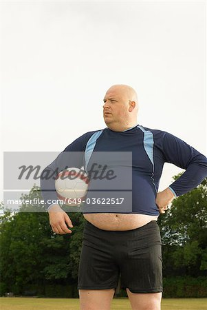 Large footballer Stock Photo - Premium Royalty-Free, Image code: 649-03622517