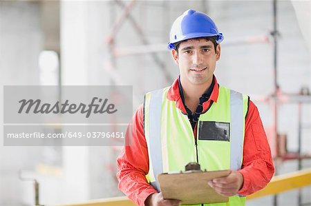 Portrait of an architect Stock Photo - Premium Royalty-Free, Image code: 649-03796451