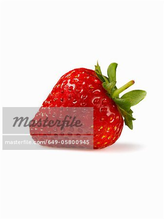 Close up of strawberry Stock Photo - Premium Royalty-Free, Image code: 649-05800945