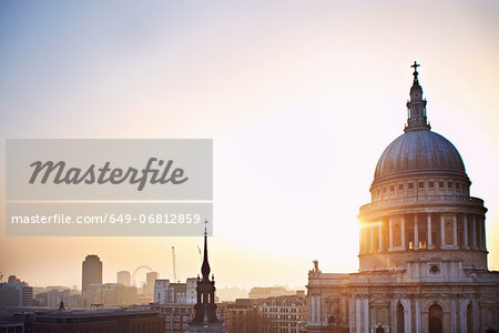 St Paul's Cathedral, London, England, UK Stock Photo - Premium Royalty-Free, Image code: 649-06812859