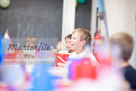 Boys at party Stock Photo - Premium Royalty-Free, Image code: 649-06844296