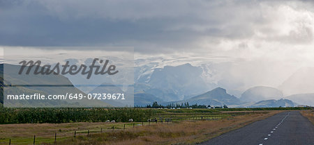 Myrdalsjokull, Fjallabak, Iceland Stock Photo - Premium Royalty-Free, Image code: 649-07239671