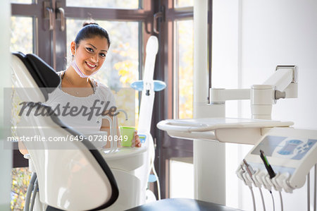 Dental nurse in dentists Stock Photo - Premium Royalty-Free, Image code: 649-07280849