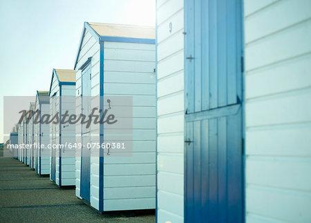 Beach huts, Southwold, Suffolk, UK